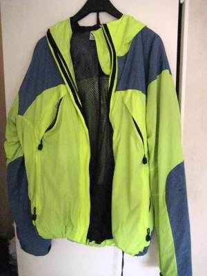 good jacket for windy and wet season