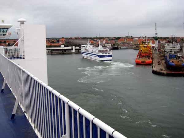 ferry between Frederikshavn and Gothenburg